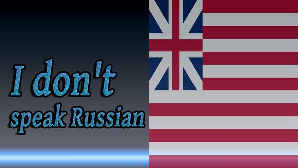 Before-How to say I don't speak Russian
