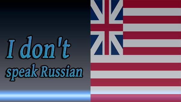 Before-How to say I don't speak Russian in Russian