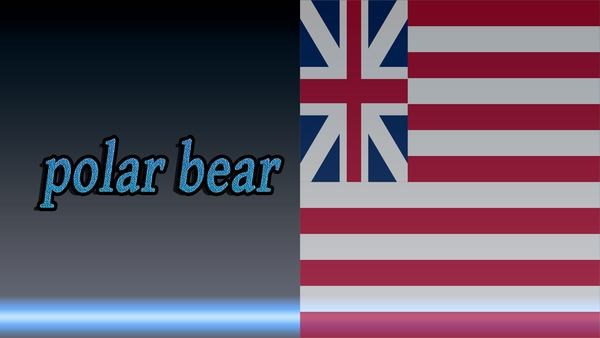 Before-Polar bear in Russian