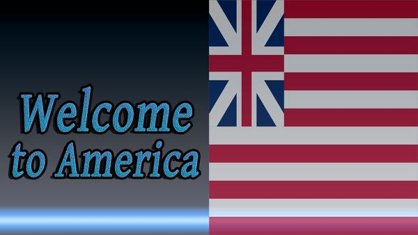 Before-Welcome to America in Russian