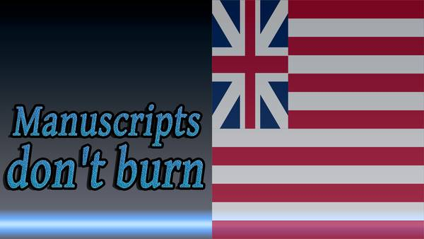 Before-Manuscripts don't burn in Russian language