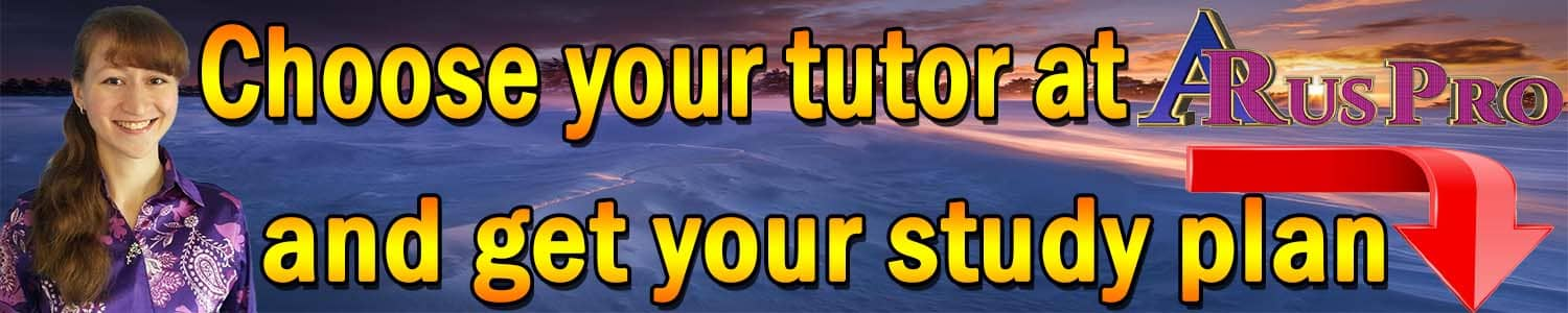 Choose your native tutor at ARusPro
